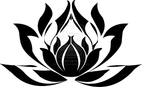Simple Lotus Flower Drawing - lotus flower drawing cliparts co