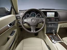 Mercedes C Class Coupe 2008 Mercedes Benz E Class Coupe Official Interior Img 15 It U0027s Your