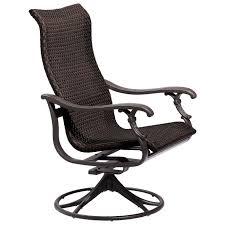 Patio Chair Swivel Rocker Ravello Woven Swivel Rocker Tropitone