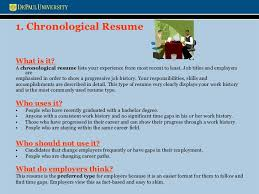 Changing Careers Resume Resume And Cover Letters Workshop Presentation