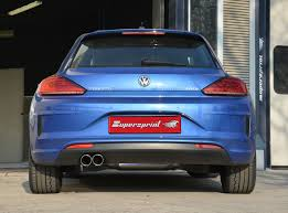 volkswagen tsi 2015 new full exhaust for vw scirocco facelift 2015 2 0 tsi 180 220hp