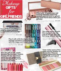 gift ideas for girlfriends zine