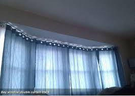 Double Curtain Rod For Bay Window 72 Best Bendable Rods Images On Pinterest Bay Windows Room
