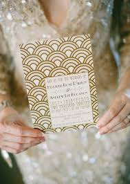 21 stunning art deco invitations the newport bride