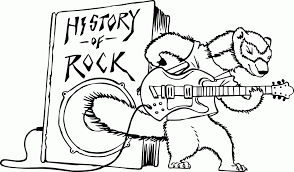 rock band coloring pages tags rock coloring pages pink