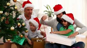 family christmas happiness hd stock video 941 033 261