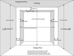 Overhead Door Sizes Delectable 90 Industrial Garage Door Dimensions Decorating