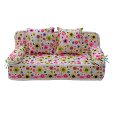 sofa flower print amazon com refaxi lovely miniature furniture flower print sofa