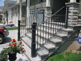 metal vandome metal outdoor stair railings