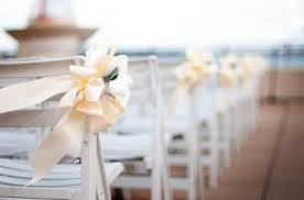 bows for chairs how to make wedding bows lovetoknow