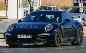 porsche 911 facelift porsche 911 facelift spied testing autoguide com
