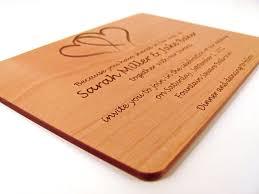 einladungen h lzerne hochzeit einladung zur hölzernen hochzeit echtholz einladung