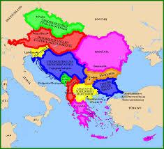 Balkans Map Alternative Balkans And Central Europe By Matritum On Deviantart