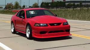 test driving 2000 cobra r mustang 5 4 dohc v8 six speed youtube