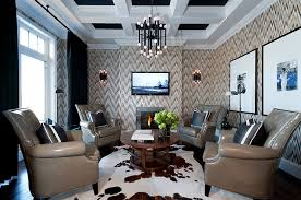 Wallpaper And Curtain Sets Chevron Pattern Ideas For Living Rooms Rugs Drapes And Accent