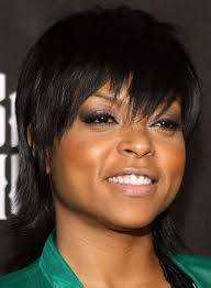 pictures of black people short hairstyles with bangs