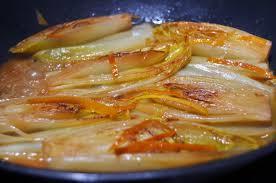 cuisiner les endives autrement endives braisées à l orange chez lolie