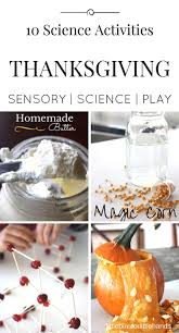 thanksgiving science activities and stem for harvest themes