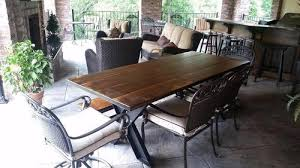 walnut dining table base steel x base table pine james james furniture springdale arkansas