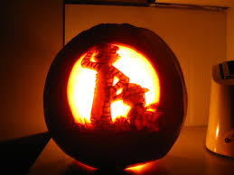 pumpkin carving calvin and hobbes make it pinterest