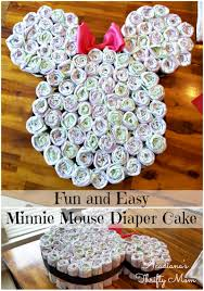 minnie mouse diaper cake collage jpg