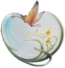 butterfly platter franz collection papillon butterfly platter fz00186