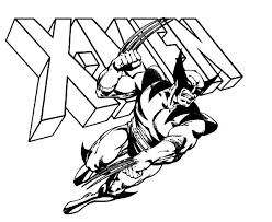 wolverine coloring pages coloring pages kids