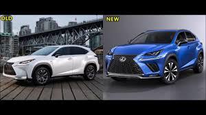 Old Vs New Lexus Nx F Sport Youtube