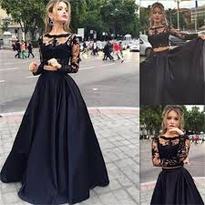 long prom dress black prom dress prom dress with lace long