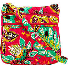 vera bradley zip crossbody rumba shop by pattern
