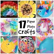 Easy Arts And Crafts For Kids With Paper - 17 easy paper plate crafts for kids happy hooligans