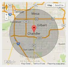 map of chandler az about us temporary fences in chandler az