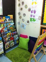 a reading corner is ready simply kids