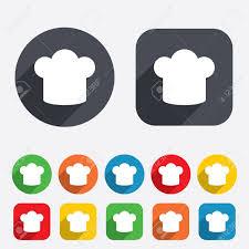 icone cuisine signe chef chapeau icône cuisine symbole cuisiniers chapeau des