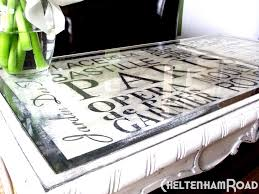 paint glass table top paris metro coffee table makeover cheltenhamroad