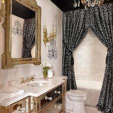 window treatment ideas for bathrooms shower curtains design ideas