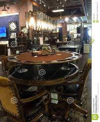 game room furniture for sale at market editorial stock photo