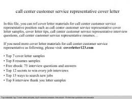sample cover letter for customer care representative create my
