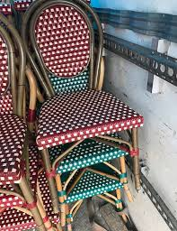Chrome Bistro Chairs Secondhand Chairs And Tables Cafe Or Bistro Chairs
