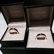 bvlgari rings weddings images Authentic bvlgari couple wedding ring never worn luxury on jpg
