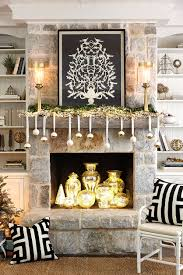 Ballard Designs Lighting by 3 Festive Holiday Fireplace Mantels How To Decorate