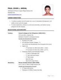 Sample Resume For Fresh Graduate Civil Engineering by Sample Resume For Fresh Graduate Chemistry Augustais