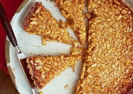 honey almond tart with orange mascarpone vegetarian times