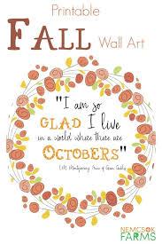 cheap printable wall art 15 gorgeous fall wall art printables free autumn art prints
