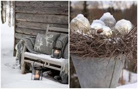 Front Door Decorations For Winter - natural outdoor winter decor t a n y e s h a
