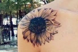 sunflower floral shoulder flowers