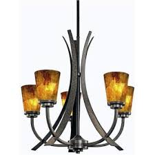 Kichler Lighting Chandelier Kichler Lighting S150264 Shell Five Light Chandelier