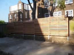 Modern Fence Modern Fence 2 Concept Landscape Architects London