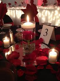 Wedding Centerpieces Floating Candles And Flowers by Lukas Wedding Red Rose Centerpiece With Floating Candle By