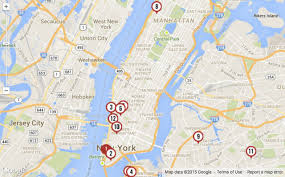 nyc oasis map maps the shortest streets in nyc untapped cities